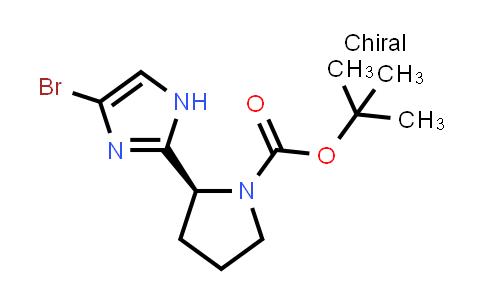 1007882-59-8 | tert-Butyl (2S)-2-(4-bromo-1H-imidazol-2-yl)pyrrolidine-1-carboxylate