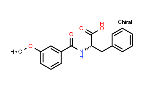 1007920-78-6 | Phenylalanine, N-(3-methoxybenzoyl)-