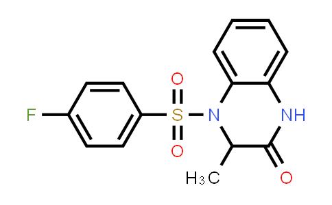 1007920-96-8 | 2(1H)-Quinoxalinone, 4-[(4-fluorophenyl)sulfonyl]-3,4-dihydro-3-methyl-