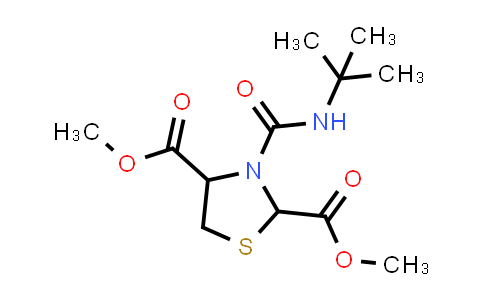 1007921-36-9 | 2,4-Thiazolidinedicarboxylic acid, 3-[[(1,1-dimethylethyl)amino]carbonyl]-, 2,4-dimethyl ester