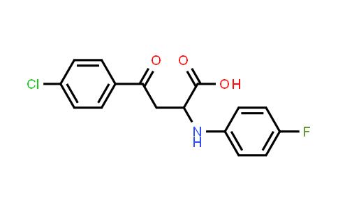 1008018-98-1 | Benzenebutanoic acid, 4-chloro-α-[(4-fluorophenyl)amino]-γ-oxo-