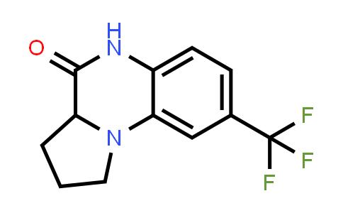 1008022-69-2 | Pyrrolo[1,2-a]quinoxalin-4(5H)-one, 1,2,3,3a-tetrahydro-8-(trifluoromethyl)-