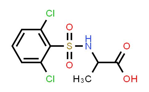 1008050-81-4 | 2-(2,6-Dichlorobenzenesulfonamido)propanoic acid