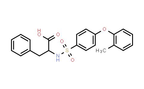 1008052-21-8 | 2-[4-(2-Methylphenoxy)benzenesulfonamido]-3-phenylpropanoic acid