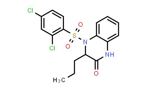 1008070-10-7 | 2(1H)-Quinoxalinone, 4-[(2,4-dichlorophenyl)sulfonyl]-3,4-dihydro-3-propyl-