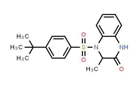 1008080-48-5 | 2(1H)-Quinoxalinone, 4-[[4-(1,1-dimethylethyl)phenyl]sulfonyl]-3,4-dihydro-3-methyl-
