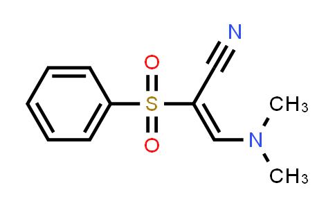1008108-50-6 | 2-Propenenitrile, 3-(dimethylamino)-2-(phenylsulfonyl)-, (2E)-