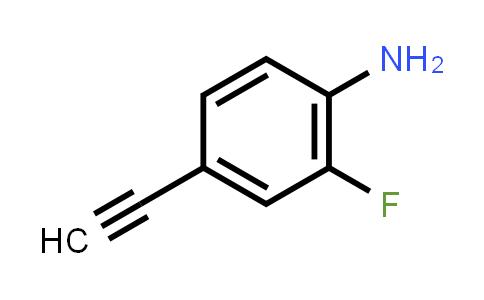 1008112-39-7 | 4-Ethynyl-2-fluoroaniline