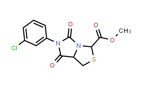 1008207-83-7 | 1H,3H-Imidazo[1,5-c]thiazole-3-carboxylic acid, 6-(3-chlorophenyl)tetrahydro-5,7-dioxo-, methyl ester