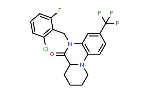 1008229-49-9 | 5H-Pyrido[1,2-a]quinoxalin-6(6aH)-one, 5-[(2-chloro-6-fluorophenyl)methyl]-7,8,9,10-tetrahydro-3-(trifluoromethyl)-