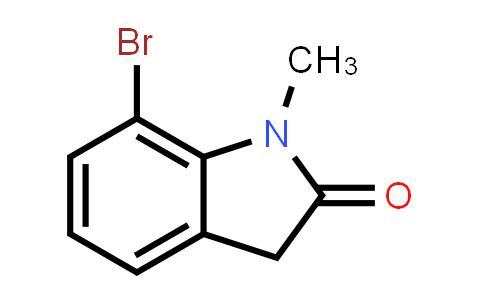 100831-25-2 | 7-Bromo-1-methyl-2,3-dihydro-1H-indol-2-one