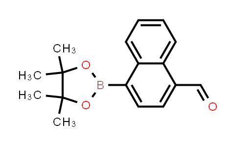 1008361-71-4 | 4-(4,4,5,5-Tetramethyl-1,3,2-dioxaborolan-2-yl)-1-naphthalenecarboxaldehyde