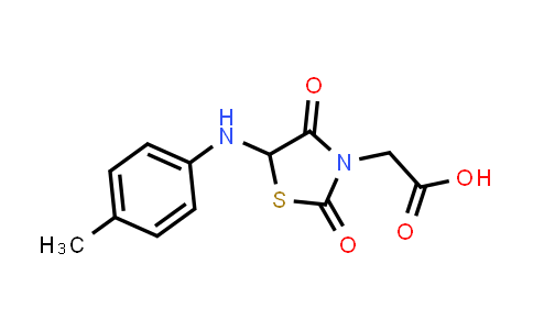 1008380-11-7 | 2-[5-(4-Methylanilino)-2,4-dioxo-1,3-thiazolidin-3-yl]acetic acid
