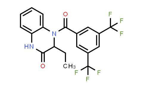 1008411-48-0 | 2(1H)-Quinoxalinone, 4-[3,5-bis(trifluoromethyl)benzoyl]-3-ethyl-3,4-dihydro-