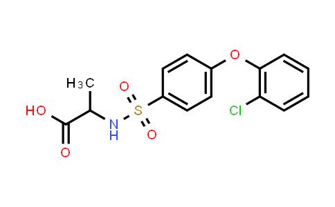 1008472-78-3   N-[4-(2-Chlorophenoxy)phenylsulfonyl]-DL-alanine