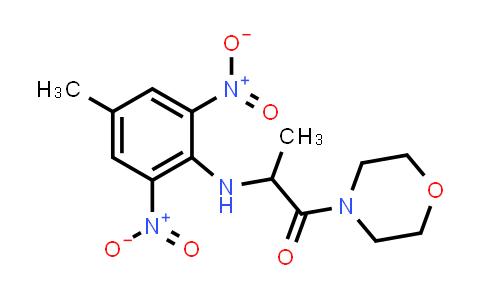 1008483-76-8   1-Propanone, 2-[(4-methyl-2,6-dinitrophenyl)amino]-1-(4-morpholinyl)-