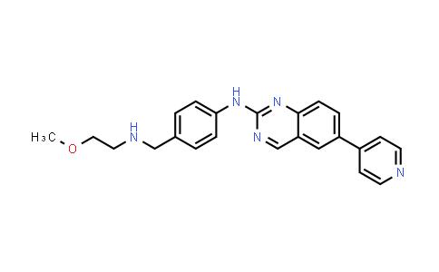 1008503-58-9 | 2-Quinazolinamine, N-[4-[[(2-methoxyethyl)amino]methyl]phenyl]-6-(4-pyridinyl)-