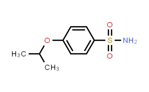 100861-05-0 | 4-Isopropoxybenzenesulfonamide