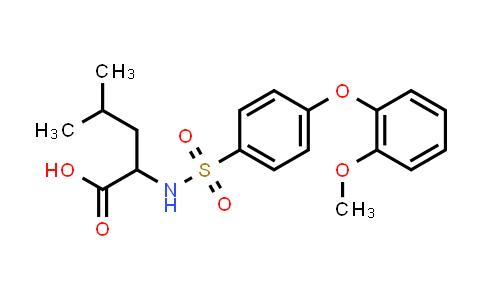 1008647-74-2 | N-[4-(2-Methoxyphenoxy)phenylsulfonyl]-DL-leucine
