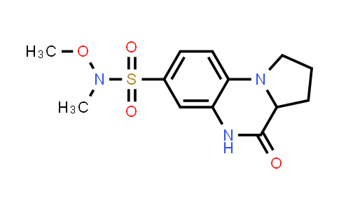 1008661-30-0 | Pyrrolo[1,2-a]quinoxaline-7-sulfonamide, 1,2,3,3a,4,5-hexahydro-N-methoxy-N-methyl-4-oxo-