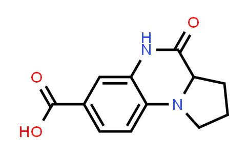 1008665-68-6 | Pyrrolo[1,2-a]quinoxaline-7-carboxylic acid, 1,2,3,3a,4,5-hexahydro-4-oxo-