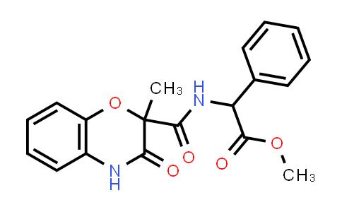 1008710-08-4 | Benzeneacetic acid, α-[[(3,4-dihydro-2-methyl-3-oxo-2H-1,4-benzoxazin-2-yl)carbonyl]amino]-, methyl ester