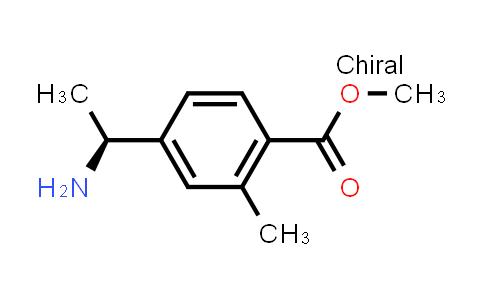 1008736-39-7   Benzoic acid, 4-[(1S)-1-aminoethyl]-2-methyl-, methyl ester