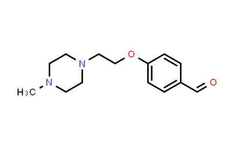 100875-69-2 | 4-[2-(4-Methyl-1-piperazinyl)ethoxy]benzaldehyde