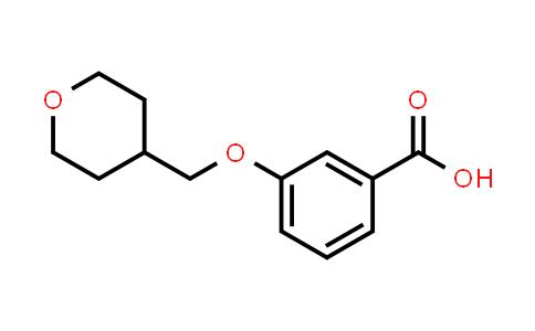 1008773-62-3 | Benzoic acid, 3-[(tetrahydro-2H-pyran-4-yl)methoxy]-