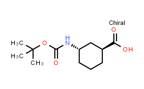 1008773-73-6 | (1S,3S)-3-{[(tert-Butoxy)carbonyl]amino}cyclohexane-1-carboxylic acid