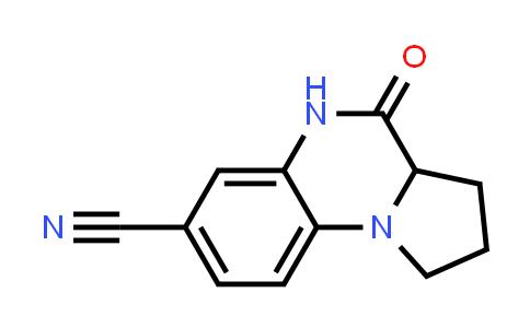 1008859-21-9 | Pyrrolo[1,2-a]quinoxaline-7-carbonitrile, 1,2,3,3a,4,5-hexahydro-4-oxo-