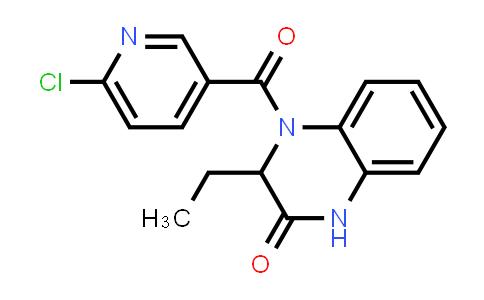 1008861-47-9 | 2(1H)-Quinoxalinone, 4-[(6-chloro-3-pyridinyl)carbonyl]-3-ethyl-3,4-dihydro-