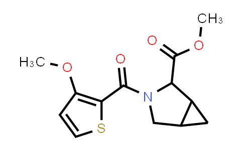 1008926-21-3 | 3-Azabicyclo[3.1.0]hexane-2-carboxylic acid, 3-[(3-methoxy-2-thienyl)carbonyl]-, methyl ester