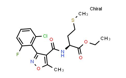 1008931-50-7 | Methionine, N-[[3-(2-chloro-6-fluorophenyl)-5-methyl-4-isoxazolyl]carbonyl]-, ethyl ester