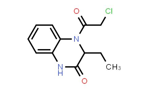 1008956-18-0 | 2(1H)-Quinoxalinone, 4-(2-chloroacetyl)-3-ethyl-3,4-dihydro-