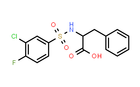 1008956-65-7 | 2-(3-Chloro-4-fluorobenzenesulfonamido)-3-phenylpropanoic acid