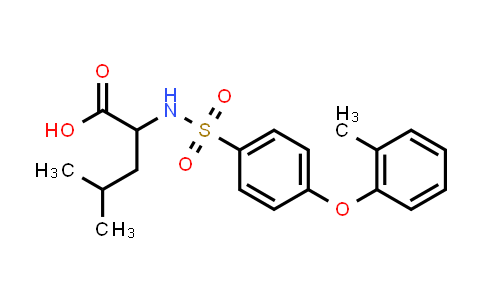 1008956-66-8 | 4-Methyl-2-[4-(2-methylphenoxy)benzenesulfonamido]pentanoic acid