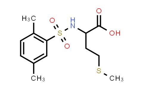 1008965-15-8 | 2-(2,5-Dimethylbenzenesulfonamido)-4-(methylsulfanyl)butanoic acid