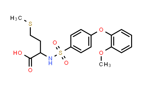 1008965-37-4 | 2-[[4-(2-Methoxyphenoxy)phenyl]sulfonylamino]-4-methylsulfanylbutanoic acid