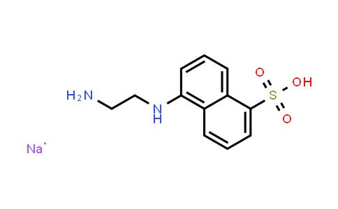 100900-07-0 | 5-(2-Aminoethylamino)-1-naphthalenesulfonic acid (sodium)