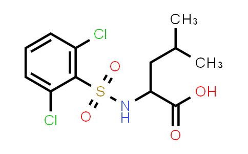 1009003-67-1 | 2-(2,6-Dichlorobenzenesulfonamido)-4-methylpentanoic acid