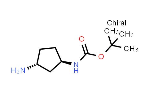 1009075-44-8 | tert-Butyl ((1R,3R)-3-aminocyclopentyl)carbamate