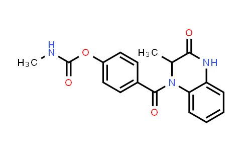 1009235-34-0   2(1H)-Quinoxalinone, 3,4-dihydro-3-methyl-4-[4-[[(methylamino)carbonyl]oxy]benzoyl]-