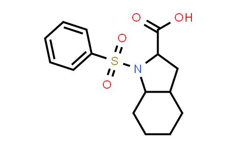 1009251-19-7   1-(Phenylsulfonyl)octahydro-1H-indole-2-carboxylic acid