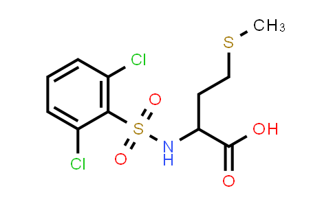 1009262-71-8 | 2-(2,6-Dichlorobenzenesulfonamido)-4-(methylsulfanyl)butanoic acid