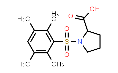 1009282-06-7 | 1-(2,3,5,6-Tetramethylphenyl)sulfonylpyrrolidine-2-carboxylic acid