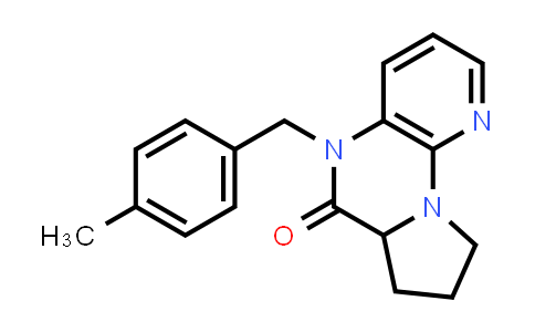 1009282-30-7 | Pyrido[3,2-e]pyrrolo[1,2-a]pyrazin-6(5H)-one, 6a,7,8,9-tetrahydro-5-[(4-methylphenyl)methyl]-