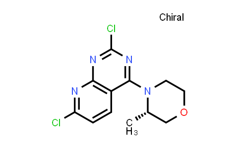 1009303-42-7   (S)-4-(2,7-dichloropyrido[2,3-d]pyrimidin-4-yl)-3-methylmorpholine