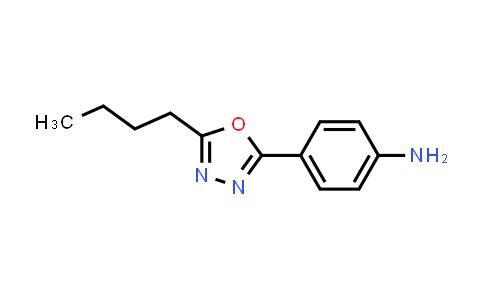 100933-82-2 | Benzenamine, 4-(5-butyl-1,3,4-oxadiazol-2-yl)-