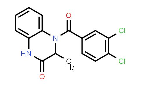 1009335-95-8 | 2(1H)-Quinoxalinone, 4-(3,4-dichlorobenzoyl)-3,4-dihydro-3-methyl-